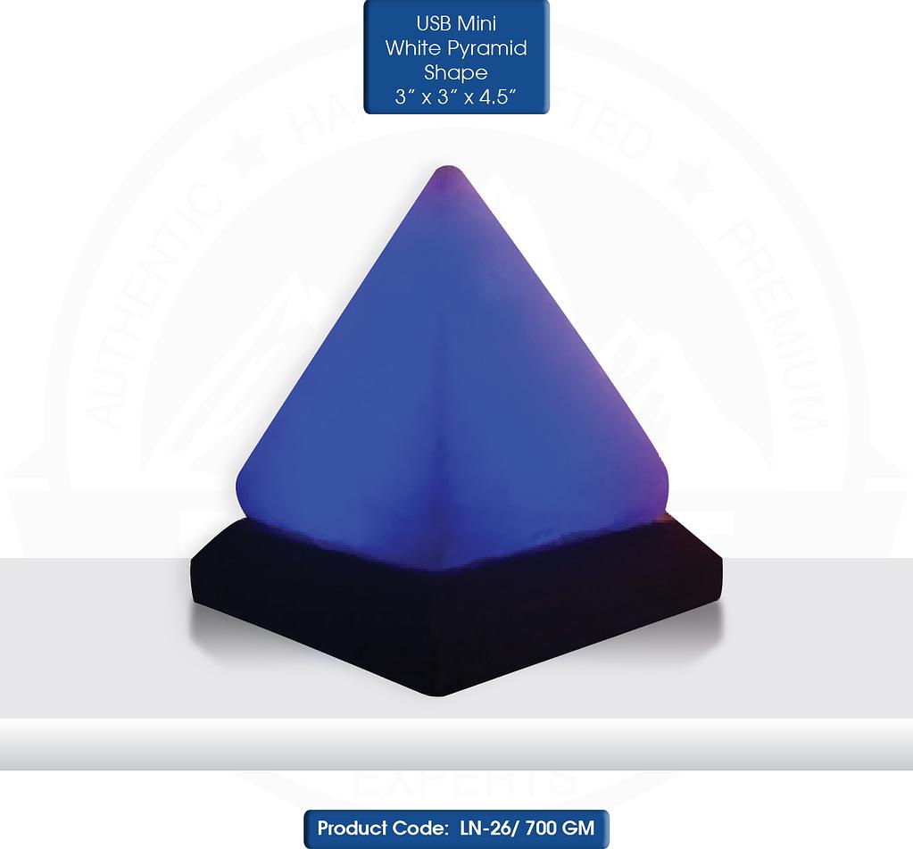 Mini USB Piramis formaju hofeher solampa